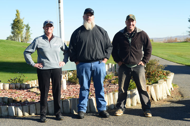 White Mountain Golf Course superintendents