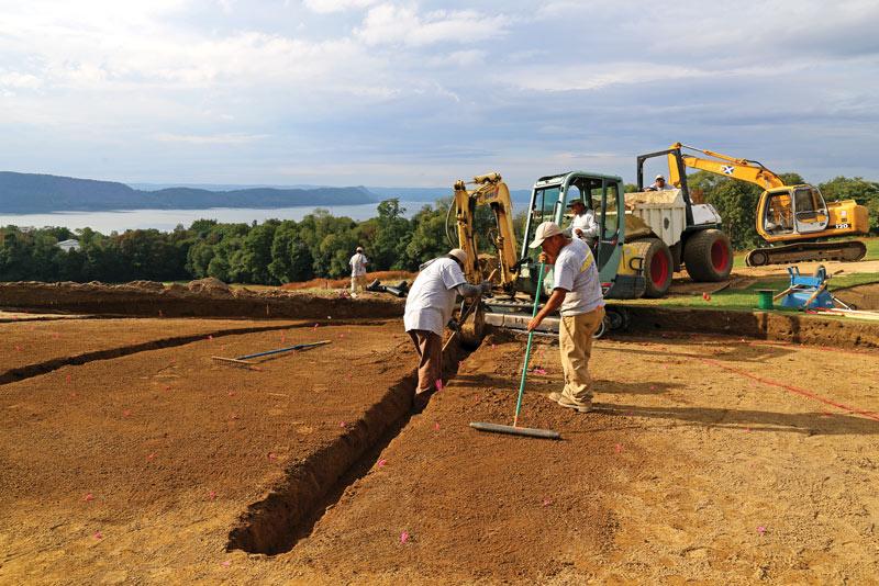 10++ Golf course construction process info