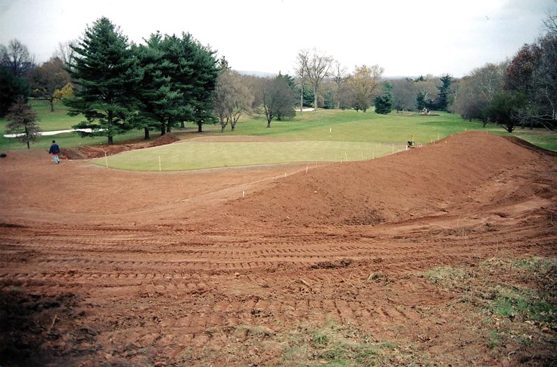 Golf course project