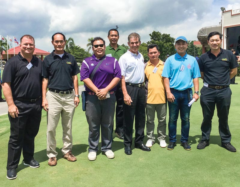 Thailand golf course superintendents