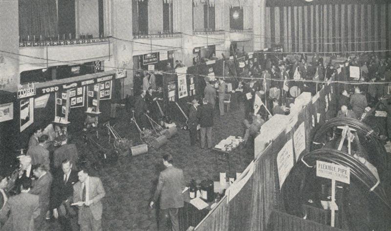 1950 GCSAA trade show