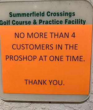 Summerfield Crossings golf course