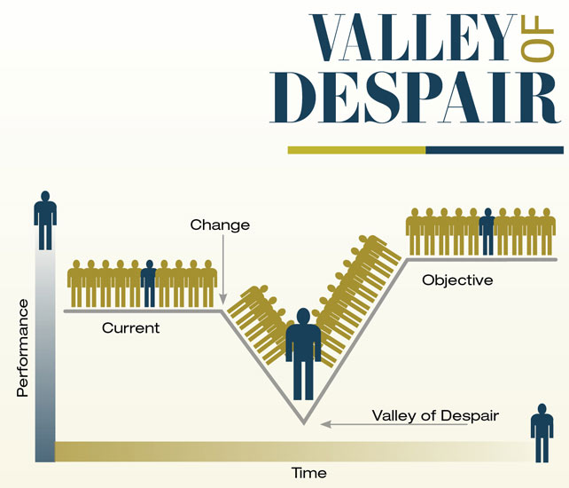 Valley of despair