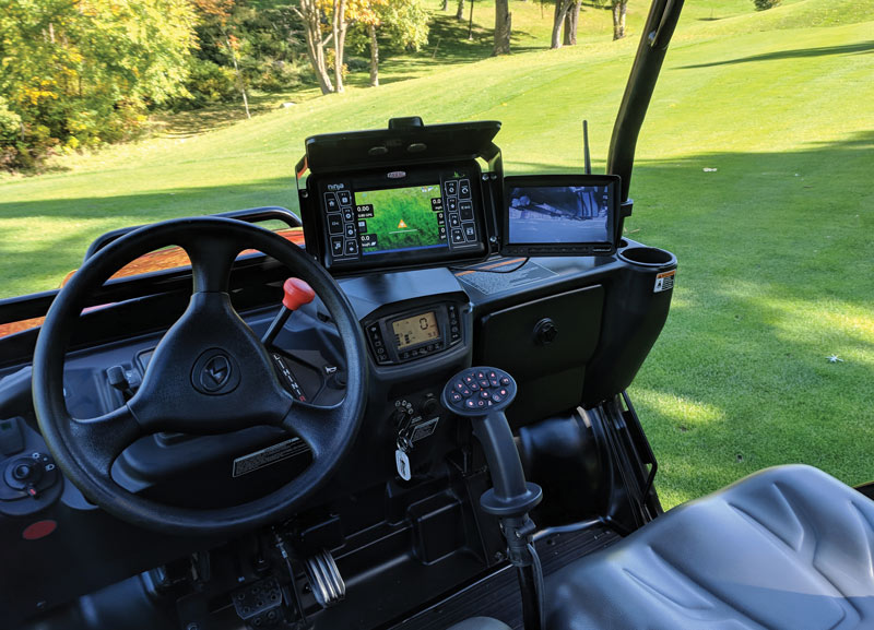 GPS golf course management
