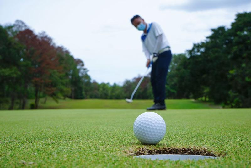 Golf during coronavirus pandemic
