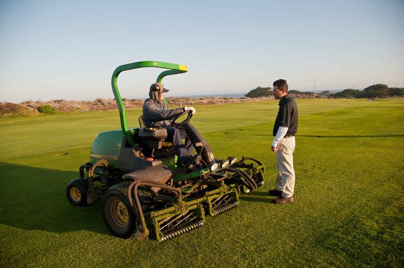Golf course staff training