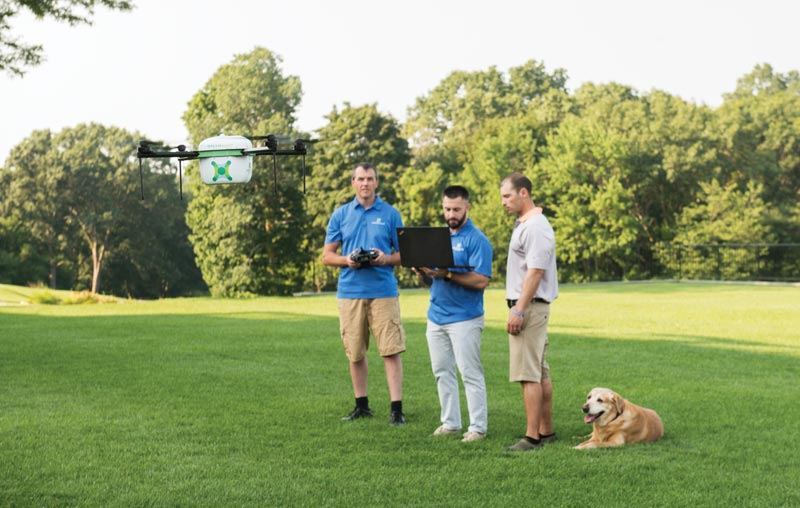 GreenSight Agronomics drone