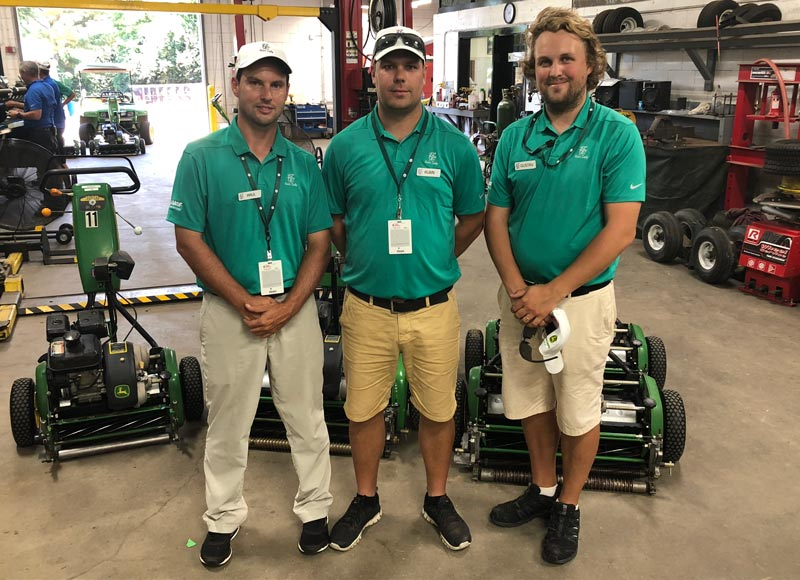 Tour Championship volunteers