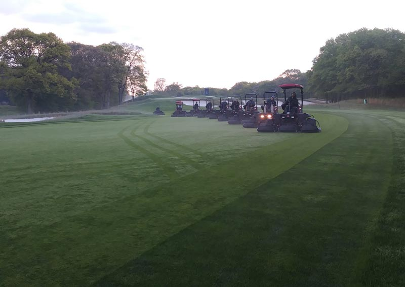 Bethpage golf course maintenance