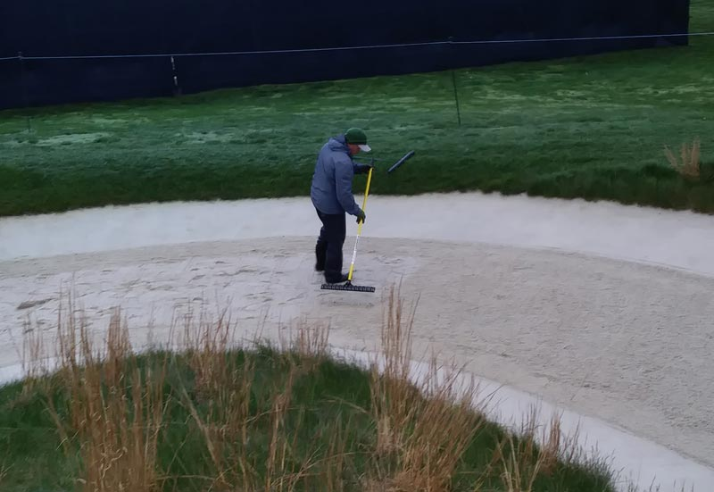 Black Course bunker