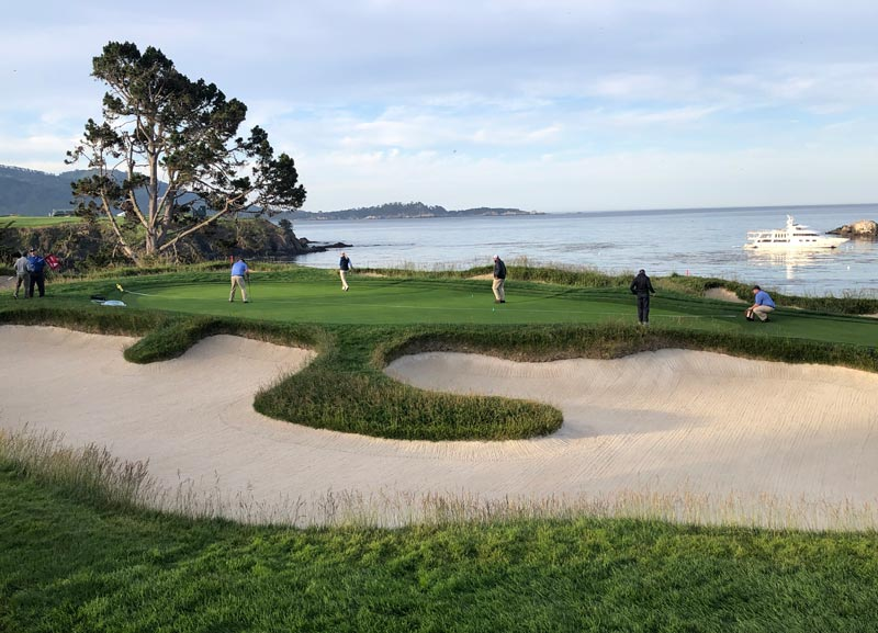 Pebble Beach 4th green