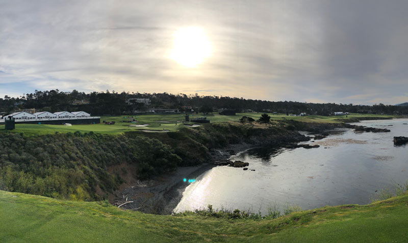 Pebble Beach 8th hole