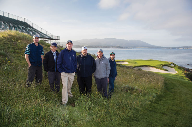 Pebble Beach maintenance crew