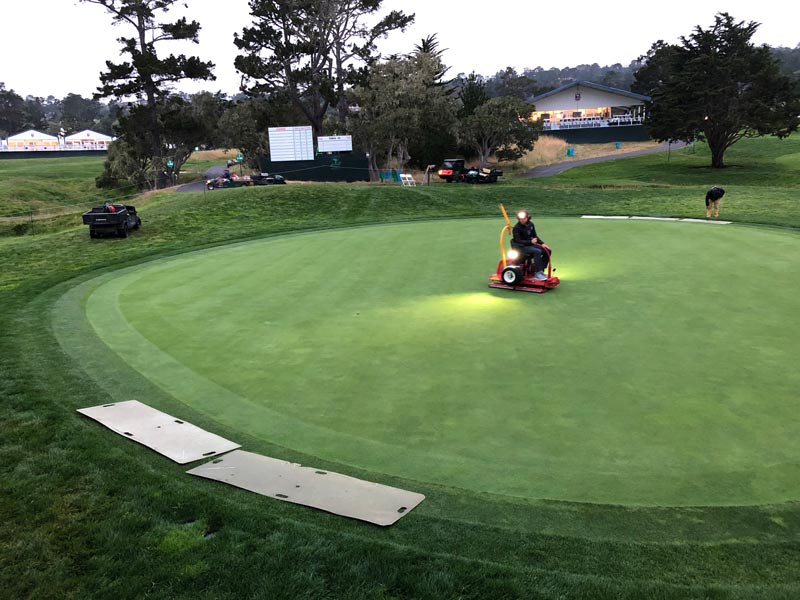 Pebble Beach rolling green