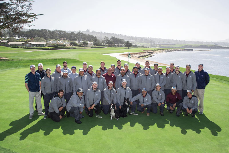 Pebble Beach staff