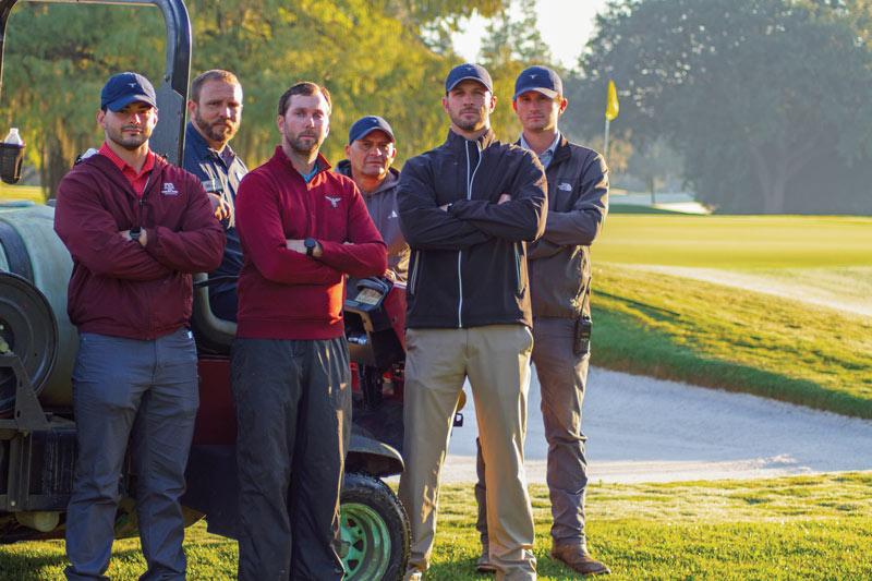 Champions Golf Club staff