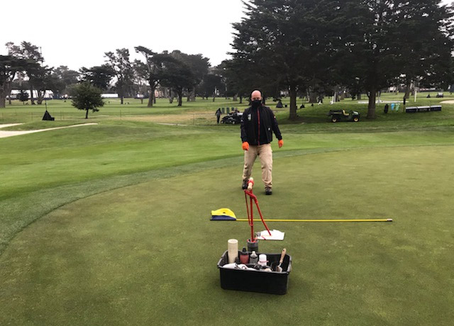 Golf maintenance TPC Harding Park