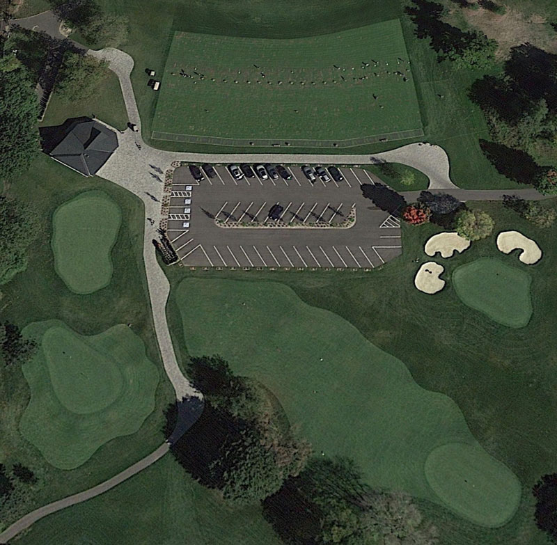New golf practice facility
