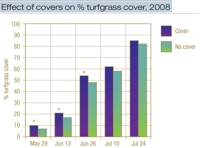 Turfgrass cover effects