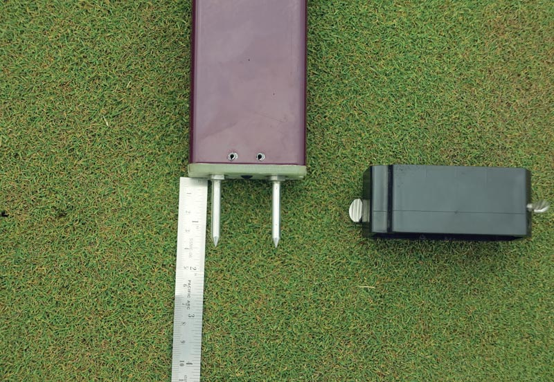Putting green firmness
